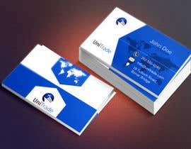 #15 untuk Design some Business Cards for an Import/Export Company, with this logo. oleh serkanferat