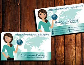 nº 15 pour Design some Business Cards for Atlas Administrative Support par TheDesignA