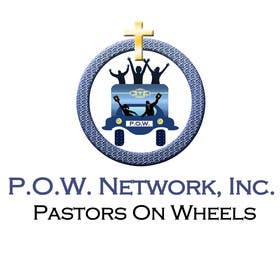 Graphic Design Contest Entry #9 for P.O.W. [Pastors On Wheels]