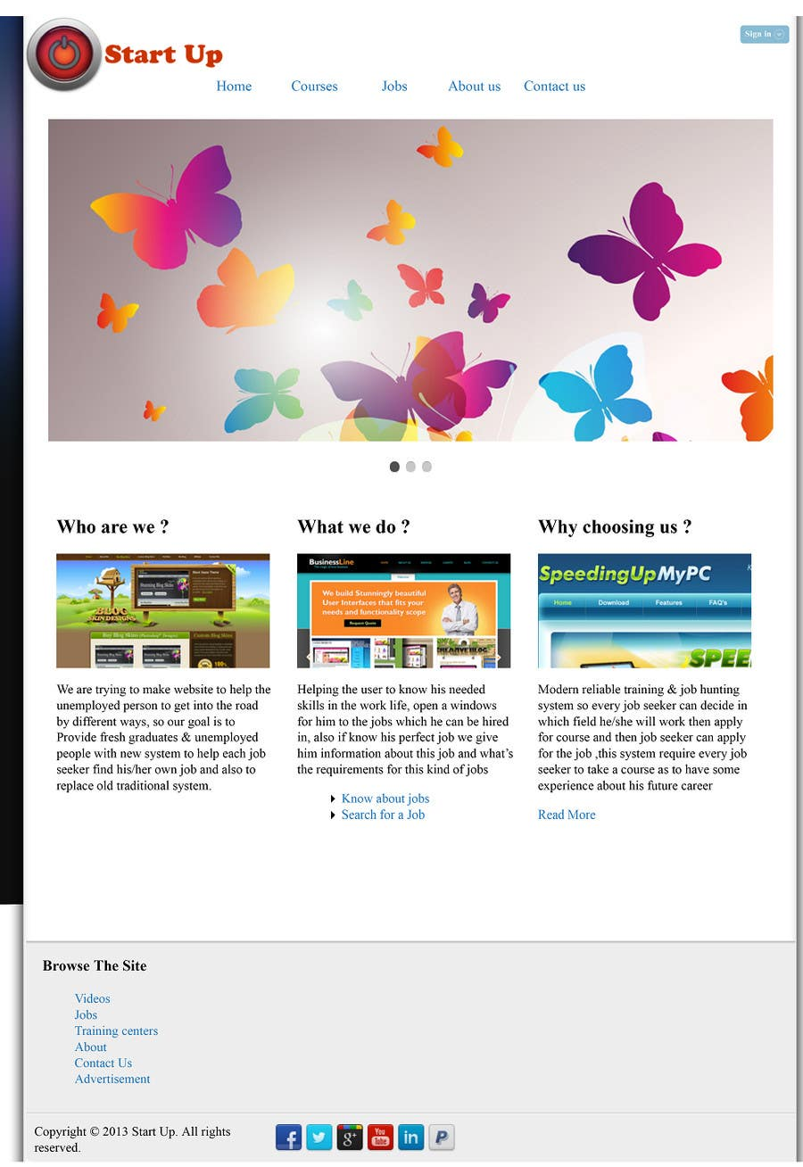 Konkurrenceindlæg #12 for Build a Website for ICIE.biz intercity internet entrepreneurs