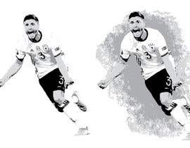 dearpixel tarafından Illustration Football Player için no 103