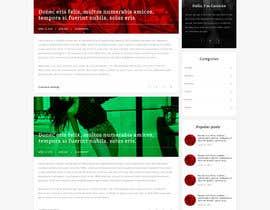hejven tarafından Fashion Blog Template için no 20