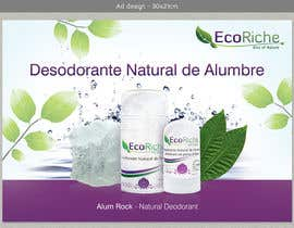 nº 6 pour Ad design for Eco luxurious deodorant par VrushaliSingh