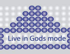 #23 for Design a Logo for 'Live in Gods mode' af mustafizbau