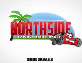 #124 untuk Logo Design for Northside Lawn Maintenance oleh LightboundEntmt