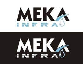 nº 287 pour Logo Design for Meka Infra par DirtyMiceDesign