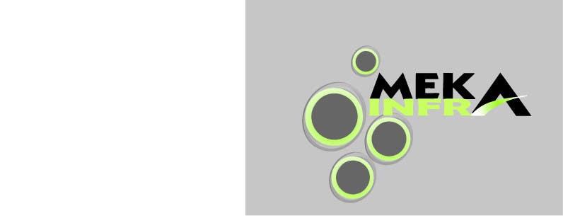 Proposition n°211 du concours Logo Design for Meka Infra