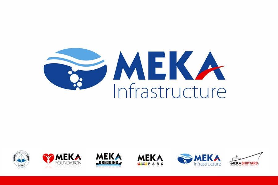 Inscrição nº 269 do Concurso para Logo Design for Meka Infra