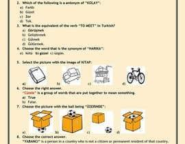 "juliajulia2601 tarafından Write Exam questions for ""TURKISH"" language için no 6"