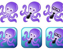 nº 68 pour Design a Logo of a cartoon octopus par patricia168