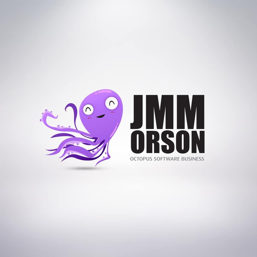 Kilpailutyö #287 kilpailussa Design a Logo of a cartoon octopus