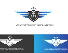 #67 para Design a Logo for ATI, Aviation Training International por RohailKhann