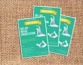 #28 for Create a flier for a Pilates Company by phthai