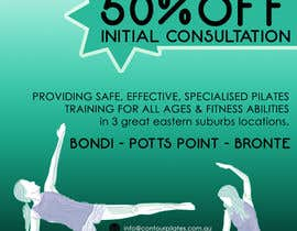 #12 for Create a flier for a Pilates Company by DENZign