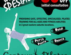 #23 for Create a flier for a Pilates Company by DENZign