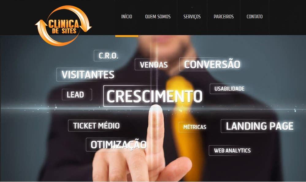 Penyertaan Peraduan #91 untuk Design a Logo for clinicadesites.com.br