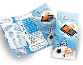 nº 14 pour Brochure Design for SMS Broadcast par creationz2011
