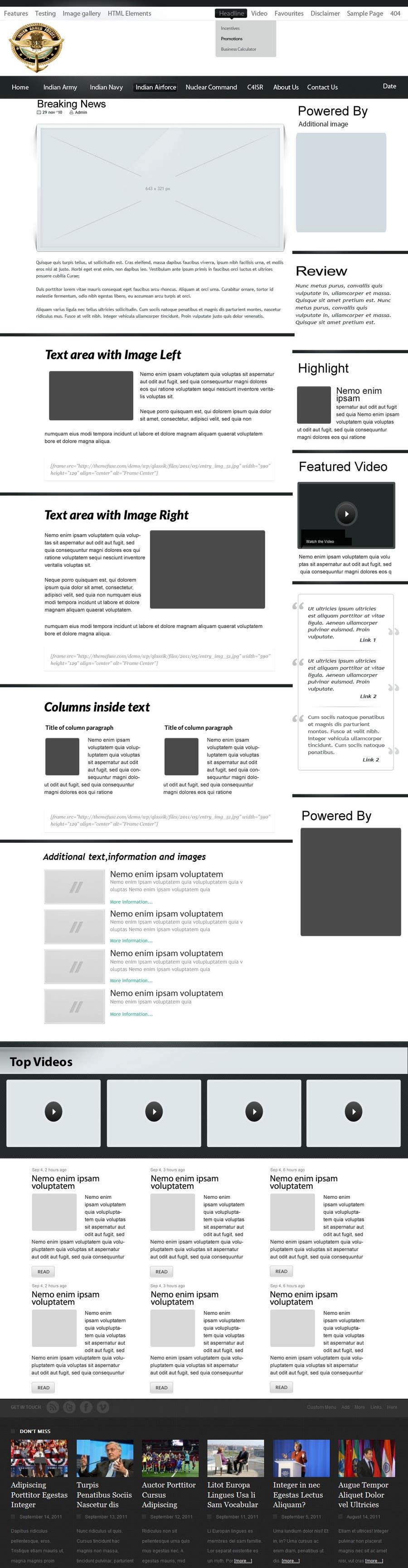 Konkurrenceindlæg #                                        27                                      for                                         Website Design for IAF Review