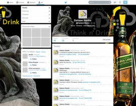 #6 para Design a Twitter background for Professional Group por dalizon