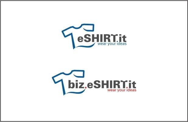 Contest Entry #                                        91                                      for                                         Logo Design for eshirt.it