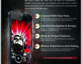 #22 for Fact sheet/flyer for a Fan Smartphone App by bab55z