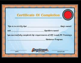 #67 untuk Design a Certificate of Completion For Dog Training Business oleh Debasish5555