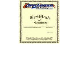 #60 para Design a Certificate of Completion For Dog Training Business por webdesigne22