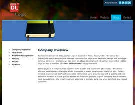 #5 untuk Design a Website Mockup for Dallas Logic Corporation oleh greenleafone7