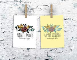 LadyLaszarus tarafından Logo Design for Humble Landings Stationery + Gifts için no 30