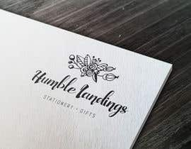 LadyLaszarus tarafından Logo Design for Humble Landings Stationery + Gifts için no 86