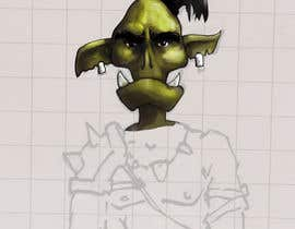 Nro 23 kilpailuun Monster Concept Art käyttäjältä fragment33
