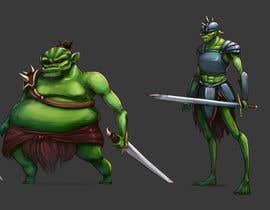 Nro 24 kilpailuun Monster Concept Art käyttäjältä floresnone