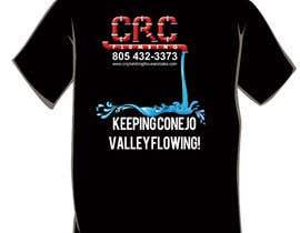 creativeOleg tarafından Water Design T-Shirt için no 15
