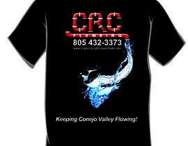 Nro 6 kilpailuun Water Design T-Shirt käyttäjältä Mockupmastr
