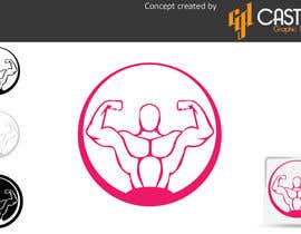 nº 35 pour Design a Logo for fitness website par CasteloGD