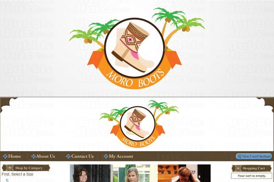 Konkurrenceindlæg #                                        10                                      for                                         Make our LOGO Great! MoroBoots.com