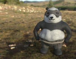 Nro 25 kilpailuun 3D character modeling, cute animal warrior character käyttäjältä las56467f299df06