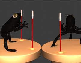 Nro 27 kilpailuun 3D character modeling, cute animal warrior character käyttäjältä papaidada