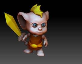 Nro 18 kilpailuun 3D character modeling, cute animal warrior character käyttäjältä constantino1983