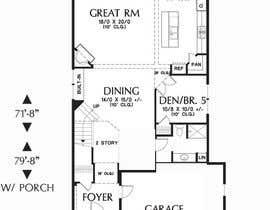 Nro 10 kilpailuun Residential Site Plan käyttäjältä reem1794