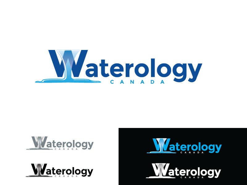 #58 for Design a Logo for WATERology Canada by zaldslim