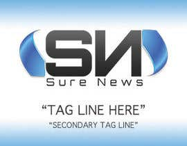 nº 10 pour Design a Banner for Sure News par ShirtMonkey