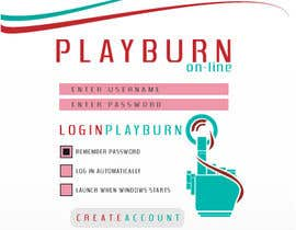 #23 para Graphic Design for Playburn por azumi41
