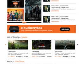 #12 para Design a Website Mockup for Cloudberry mediabox por ProliSoft