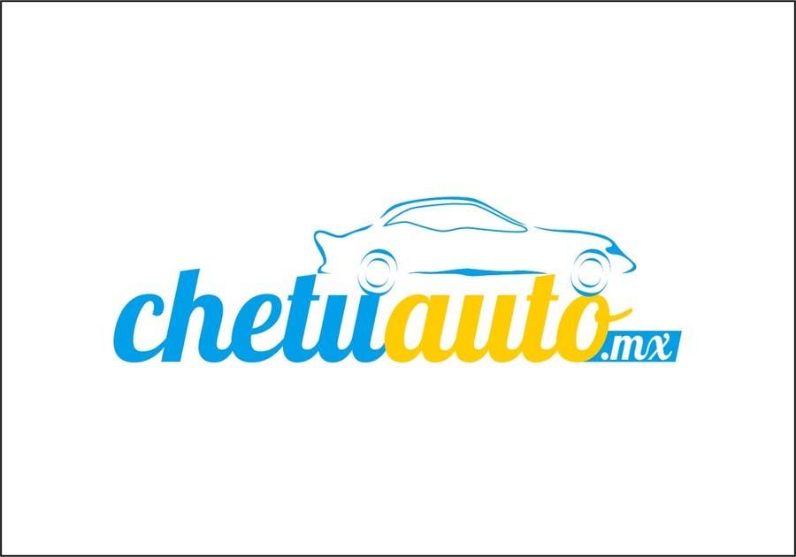 Contest Entry #13 for Diseñar un logotipo for chetuauto.mx