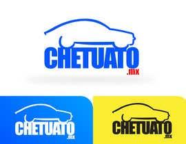 #18 untuk Diseñar un logotipo for chetuauto.mx oleh carlosbatt