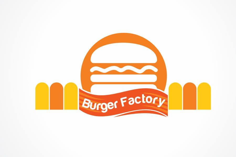 Kilpailutyö #297 kilpailussa Logo Design for Burger Factory