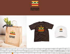#86 для Logo Design for Burger Factory от GLADHEAD