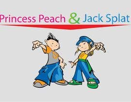 #21 para Princess Peach and Jack Splat por sammyali