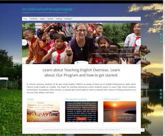 #9 for 10 Page Wordpress Website for an English Teacher Training Company by alin1987